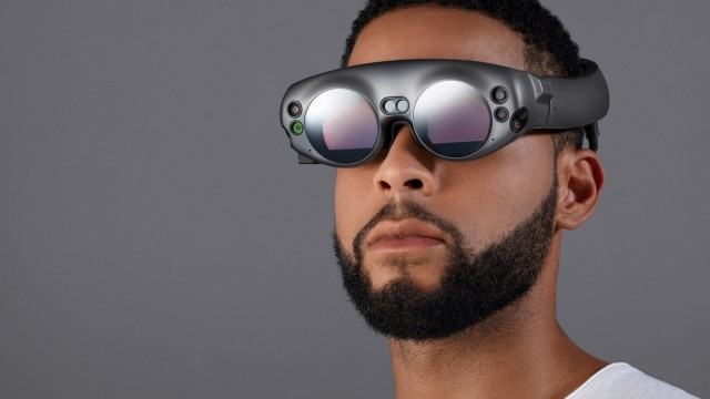 AR Brille Magic Leap