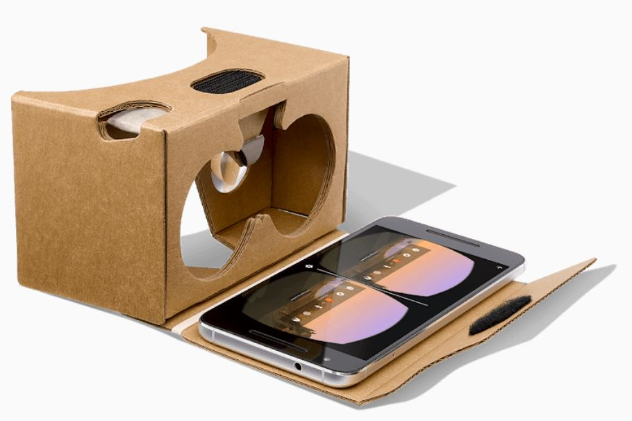 Virtual Reality Brille Google Cardboard