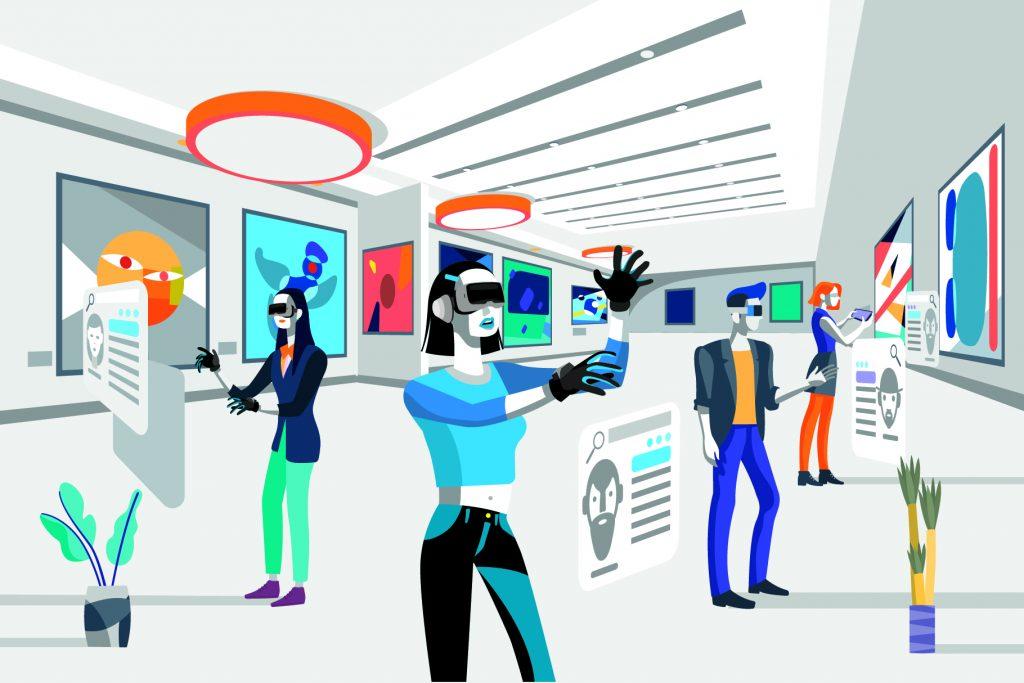Digitales Museum 4.0 Virtual Augmented Reality