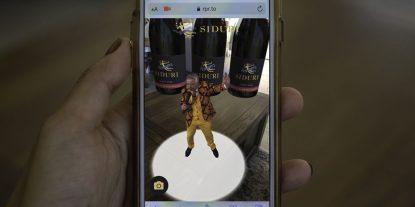 Siduri Holopgraphic Experience AR Marketing