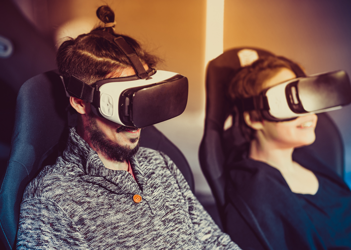 virtual reality stuhl